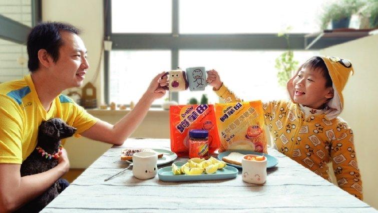 滿滿營養、愛的早餐,陪孩子玩學樂生活