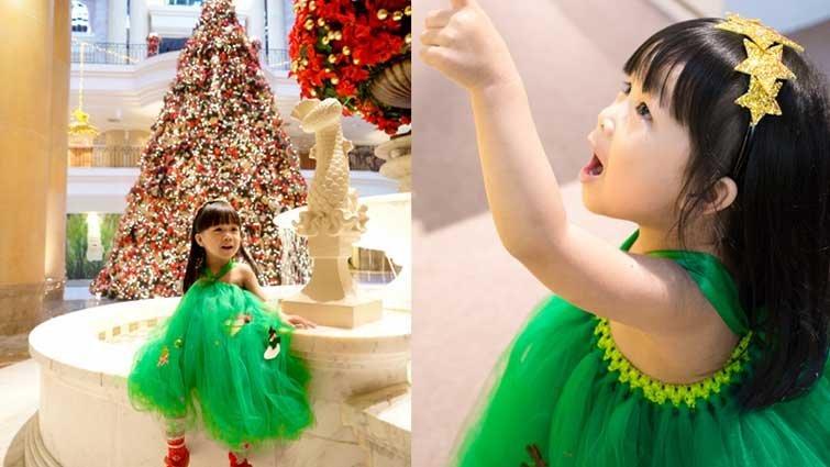 【手作教學】如何簡單做出華麗聖誕裝扮及配件?女孩兒最愛的澎澎裙 tutu 小洋裝!!