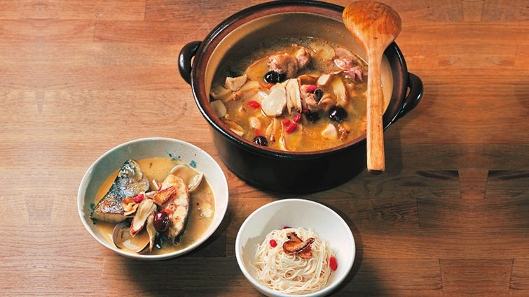 料理達人Grace的私房菜:立冬輕進補