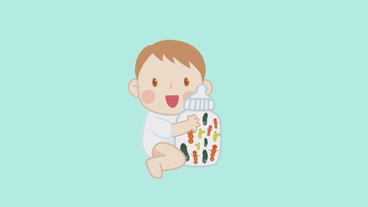 銜接母乳配方奶推薦-添加健康三益菌,照顧寶寶腸道健康!