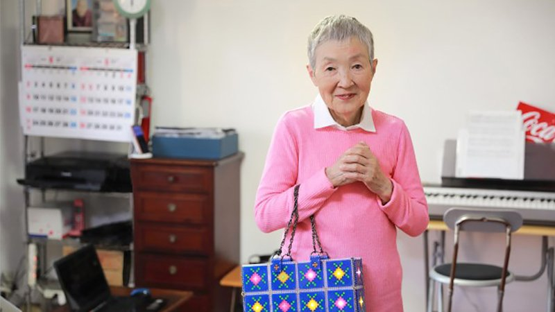 82歲登蘋果大會!高中學歷、至今單身,若宮正子「為大家帶來勇氣」