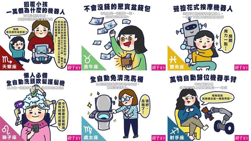 腦洞大開爆笑分享:獻給12星座媽咪的發明