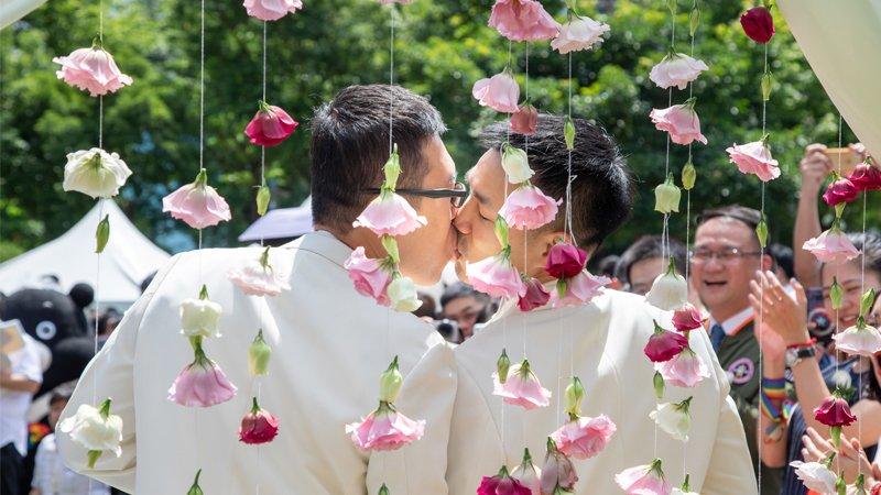 【圖片故事】見證同志婚姻歷史時刻!沒人該為追求更好的自己受歧視