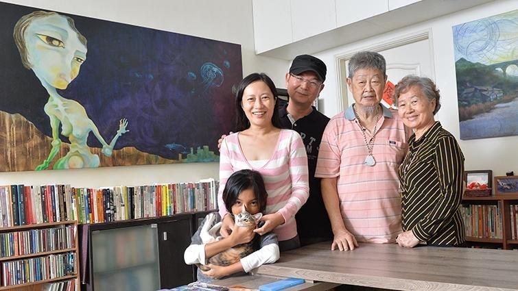 導演蔡銀娟:我家三代同堂,沒有血緣,卻有滿滿的愛
