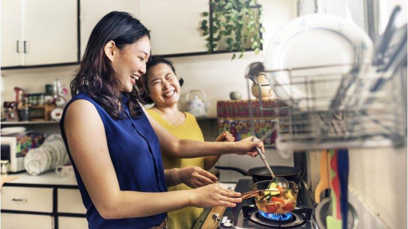 過年學一道家傳菜,串起沒有到期日的親子情