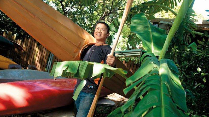 溫志榮:一路被潑冷水  ,到發展獨創造舟課程