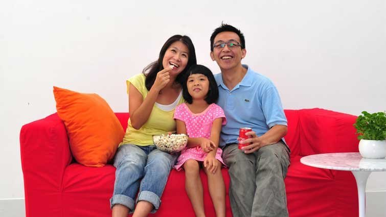 家庭幸福來自於良好的夫妻關係