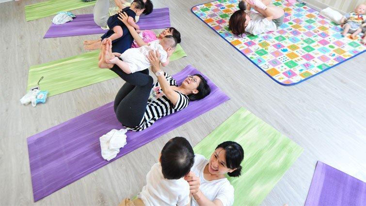 嬰兒瑜珈:發掘寶寶身體的能力