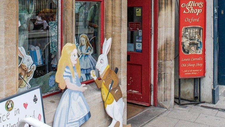 到牛津尋訪愛麗絲與兔子:牛津大學基督堂學院