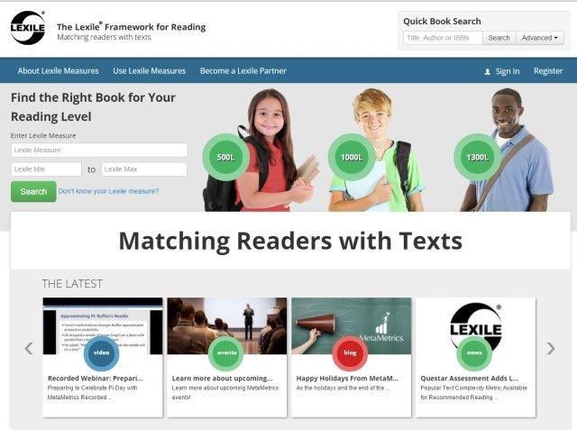 Lexile 英文分級系統──找出閱讀落點,讀出閱讀興趣