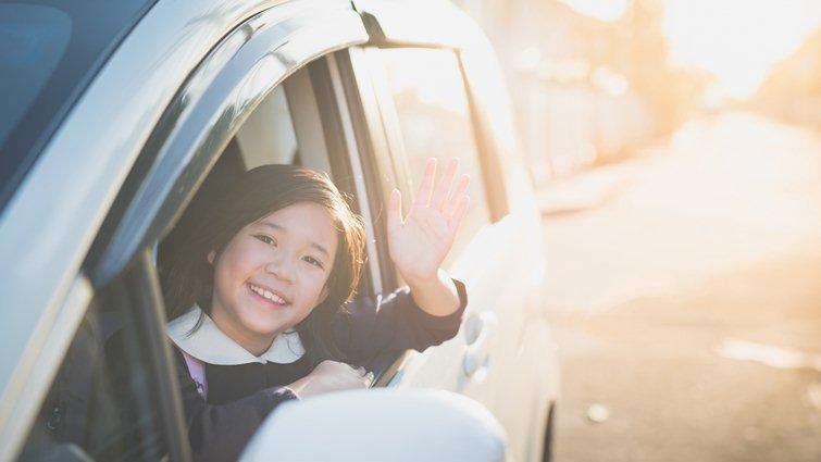 接送孩子途中 是無壓力親子對話好時機