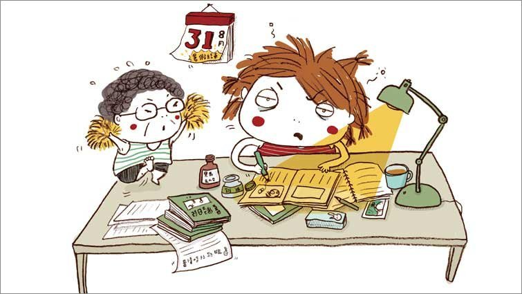 王文華:暑假作業救急6招
