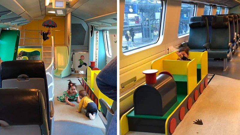 帶小孩出遠門不怕被白眼的火車!芬蘭國鐵親子車廂體驗