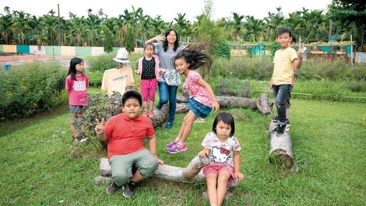 臺灣好基金會 食農教育:在校園裡闢一塊田