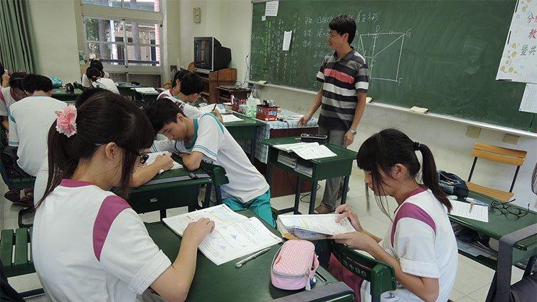 何耿旭:化身變焦鏡,數學課堂也有美麗風景