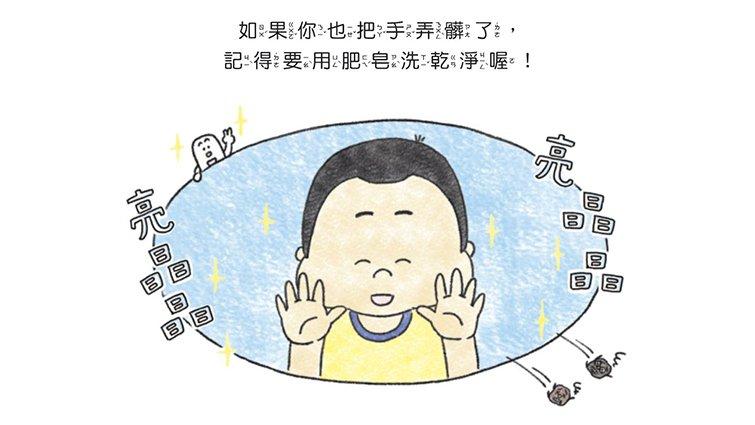 一本書,讓孩子一回家就主動洗手!