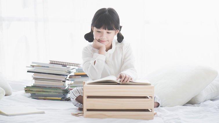 購書狂媽媽養出愛書的小孩