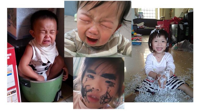 【圖文特搜】育兒崩潰日常 只有孩子可以超越孩子