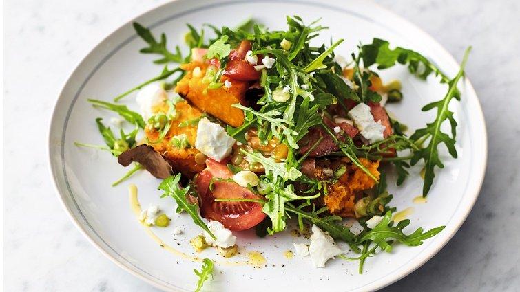 傑米‧奧利佛:番薯沙拉
