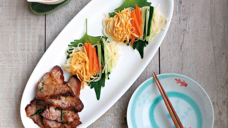 自炊食代的極光家之味:梅花豬 清爽料理好開胃