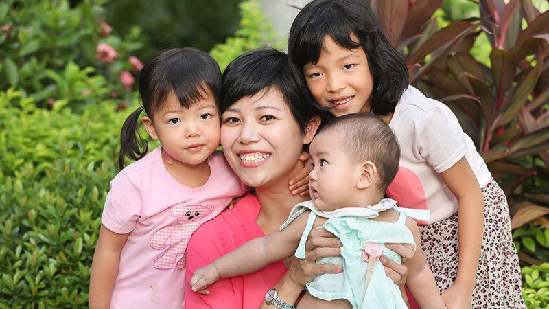 單親三寶媽黎詩彥:在家帶孩子,我的人生重新開機