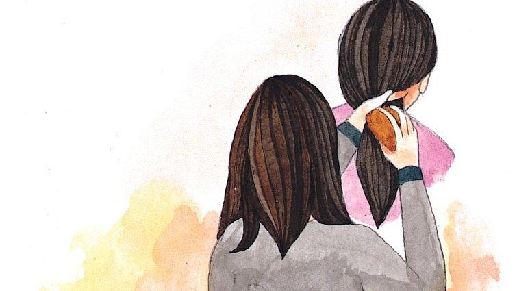 罹癌母親告白:持續幫女兒梳頭的日常,是我最後的心願