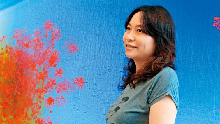 藍偉瑩:共編一張溫暖堅定的網