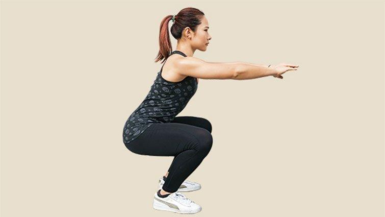 深蹲重點 不在膝蓋不能超過腳尖!