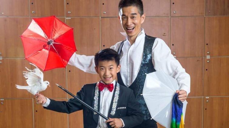 我和我的冠軍兒子 10歲聽障魔術師張道順和爸爸的故事