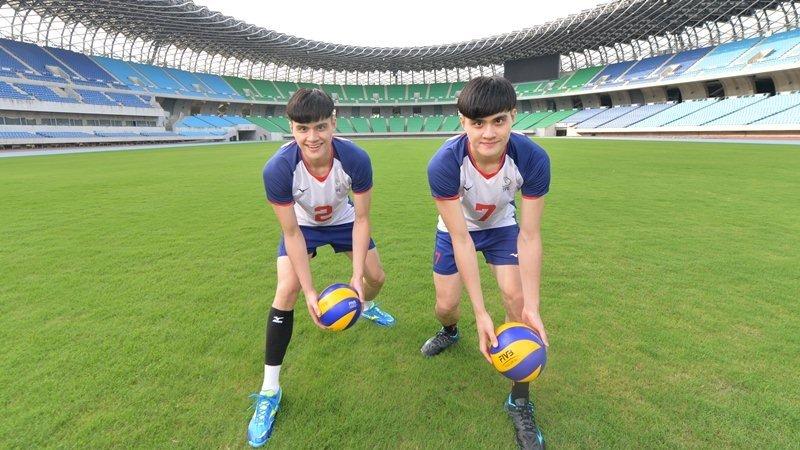 世大運排球型男雙胞胎:留下獎牌,不留遺憾