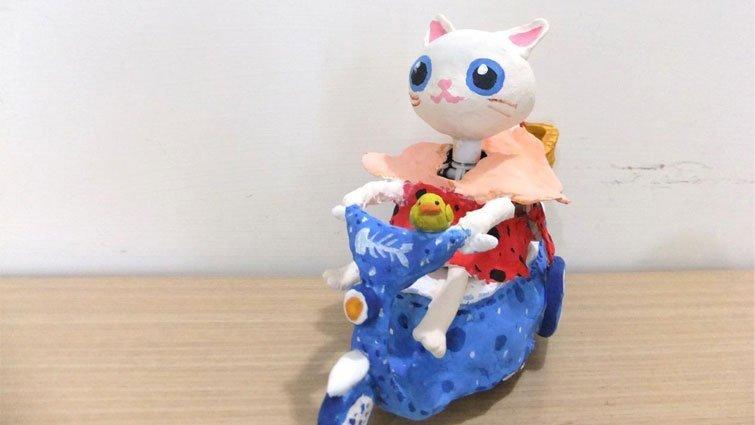 【創意改造】奉茶童子變身摩登貓咪