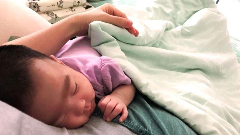 關於抱睡,是我給孩子最大的溫暖與安全感