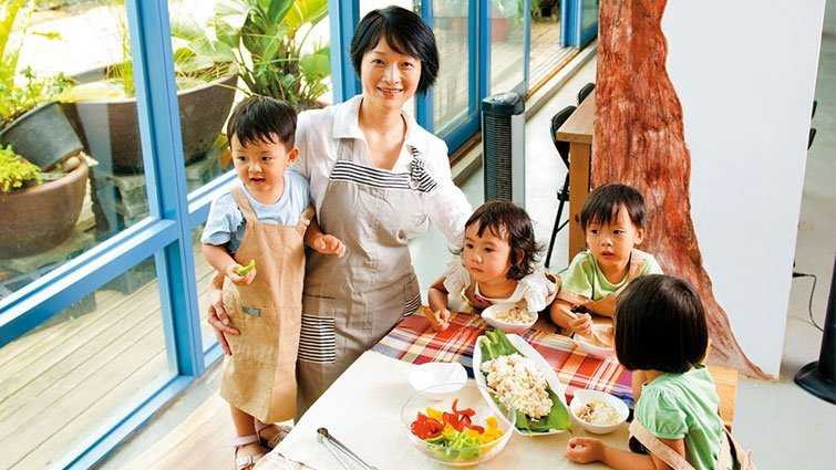 邀小小孩一起營造餐桌美學