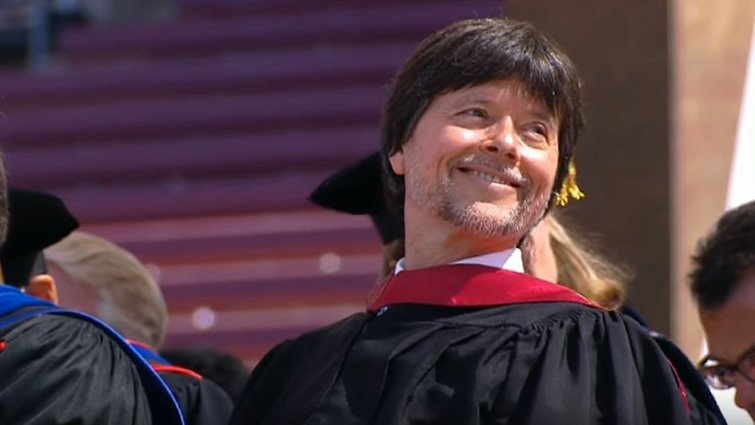 永遠相信、堅持做個英雄-紀錄片導演肯.伯恩斯對史丹佛大學畢業生的忠告