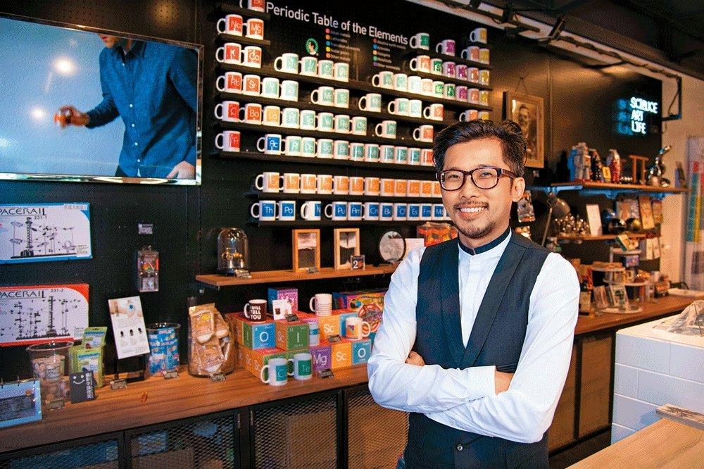 「賽先生」創辦人林厚進:科學腦、藝術魂 讓玩具變精品