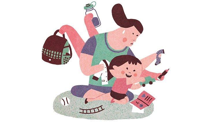 小心養出媽寶兒