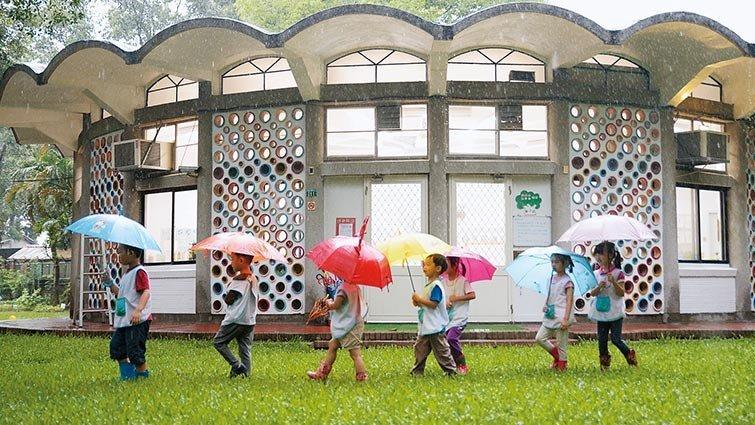 台北市愛德幼兒園:在公館商圈以大自然為教室