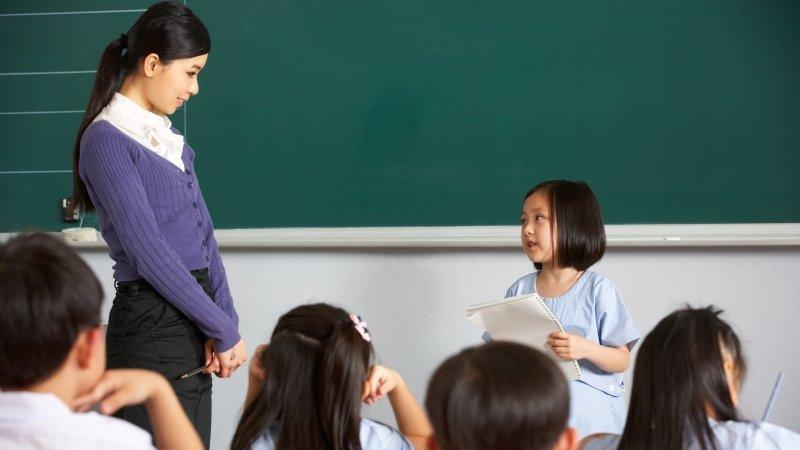孩子在教室裡,有什麼好焦慮?