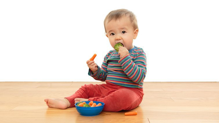 糞便有菜渣,傷寶寶腸胃? 醫:人不是牛,本來就無法消化纖維