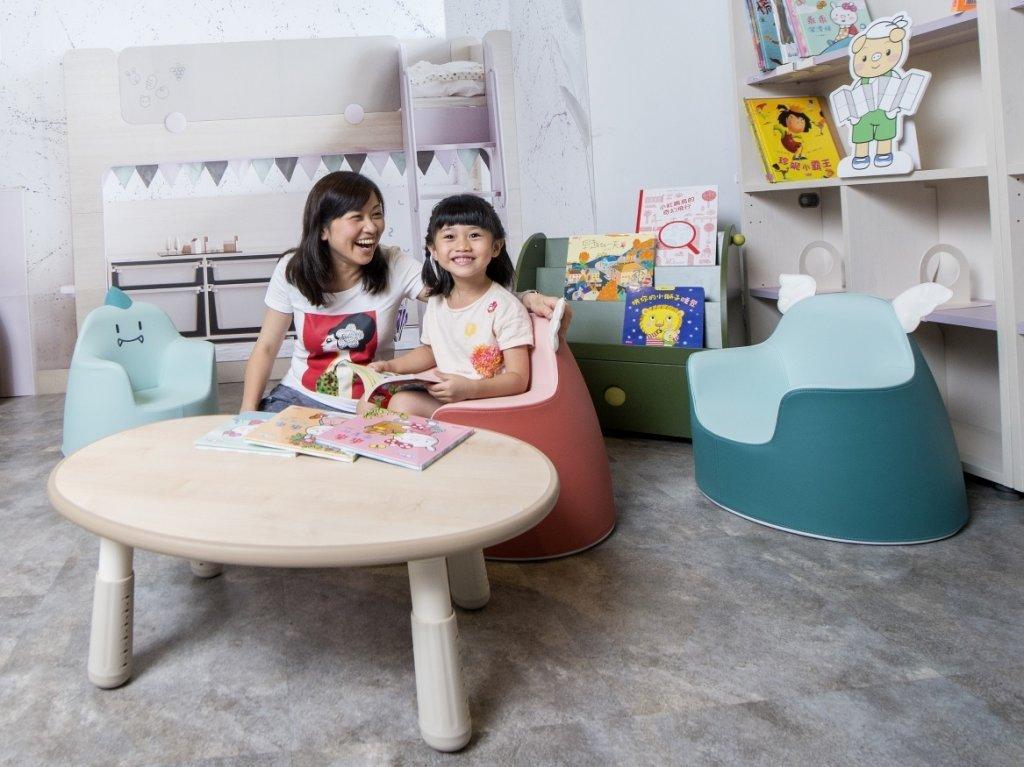 用愛營造舒適、安全又美觀的親子共讀空間