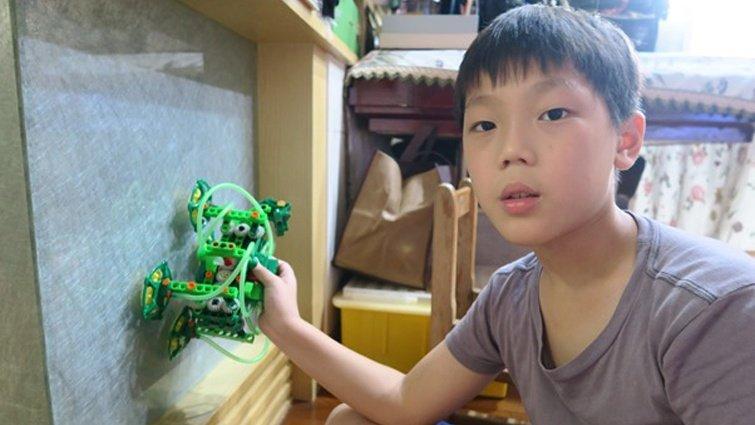 【開箱分享】小孩的科學STEAM系列:爬牆機器人