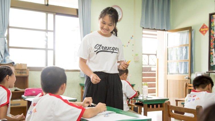 永齡台灣希望小學補救教學:找出知識斷點重新打底