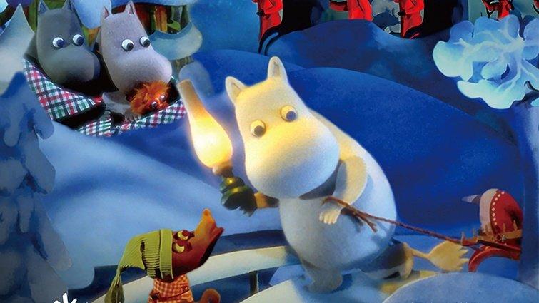 奧斯卡金獎動畫團隊全新打造 《嚕嚕米冬日樂園》動畫電影躍上大銀幕