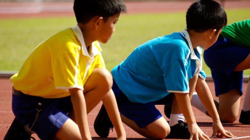 透過運動賽事,培養孩子感知和文化素養