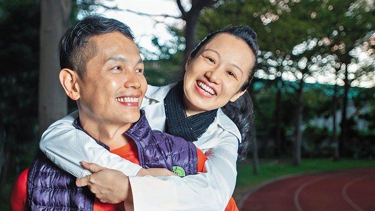 新北市鶯歌工商教師張瓊云x吳昭儒:探索內在冰山,心靈伴侶並肩同行