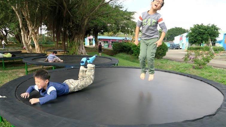九斗村休閒農場 – 焢窯、跳跳床、空氣球