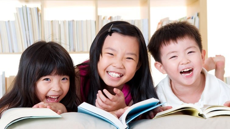 孩子們的最愛—自由自在的閱讀