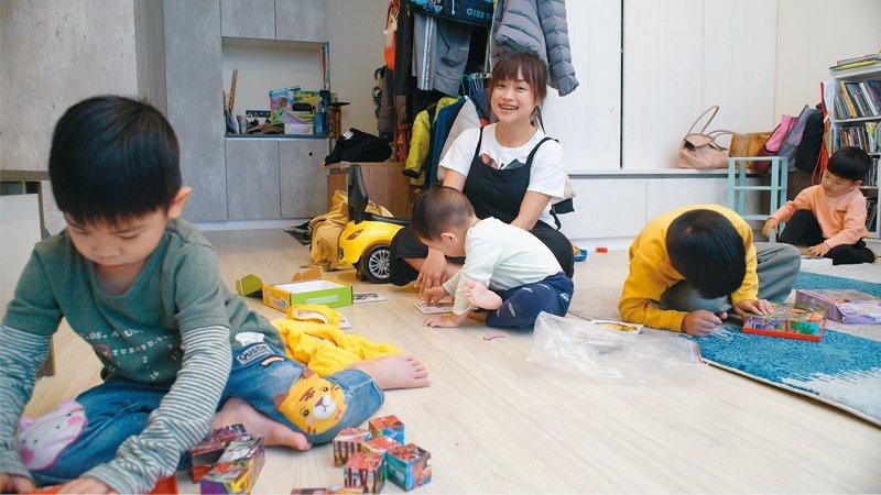 四子媽 張淳雅:家裡就像幼兒園