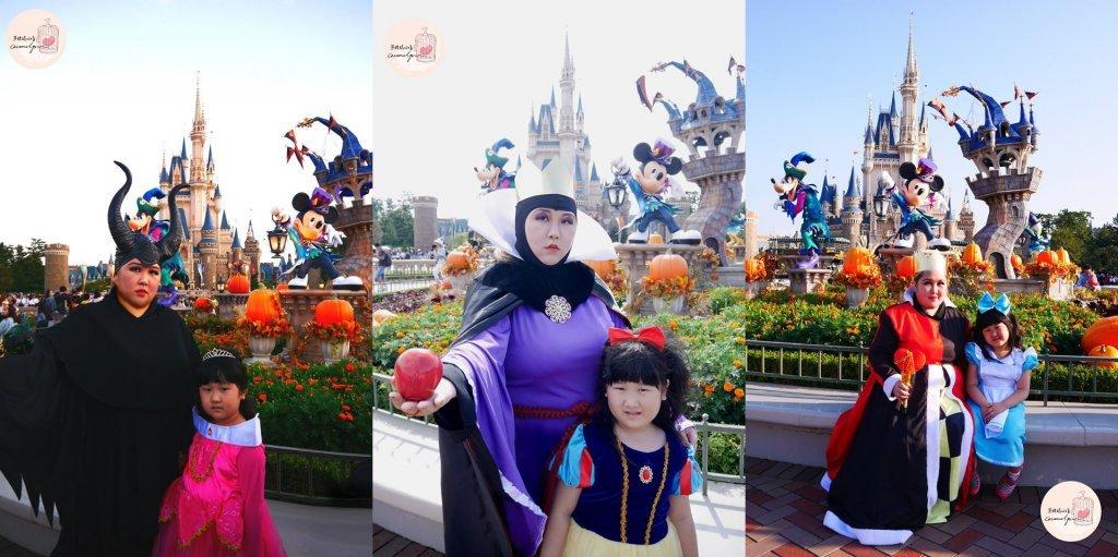 東京迪士尼萬聖節遊玩攻略,親子扮裝Cosplay入場!