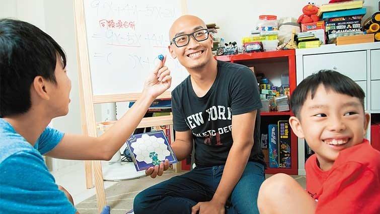 曲智鑛:我從放棄數學,到教人數學